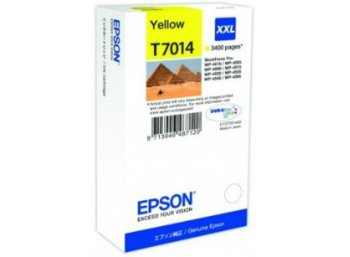 Epson Tusz T7014 YELLOW XXL do serii WorkForce WP4000/4500 (3.4k)
