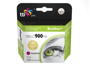 TB Print Tusz do Brother LC 900 Purpurowy TBB-LC900MA