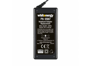 Whitenergy Zasilacz 19V | 4.74A 90W wtyk 7.4x5.0 mm + pin HP Compaq (05867)