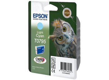 Epson Tusz T0795 Light Cyan Stylus Photo 1400