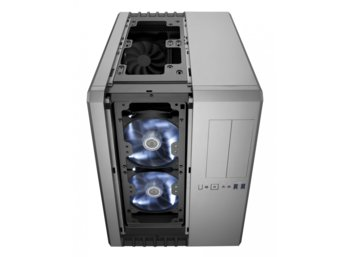 Corsair Carbide Air 540 ATX Cube Case- Steel Silver