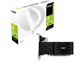Palit GeForce CUDA GT730 2GB DDR3 PCI-E 128Bit DVI/HDMI/DSub BOX