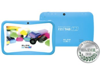 BLOW Tablet kidsTAB 7'' BLUE + silikonowe etui