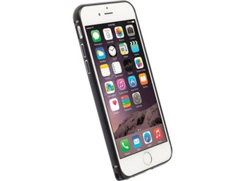 Krusell AluBumper Sala do Apple iPhone 6 Plus - czarny