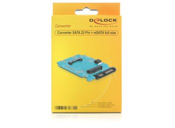Delock Adapter SATA 22PIN->mSATA