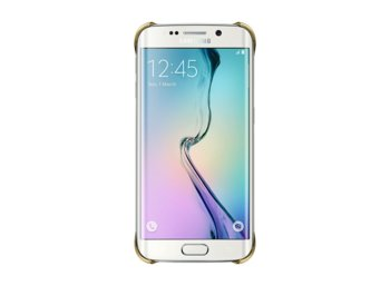 Samsung Clear Cover S6 Edge GOLD