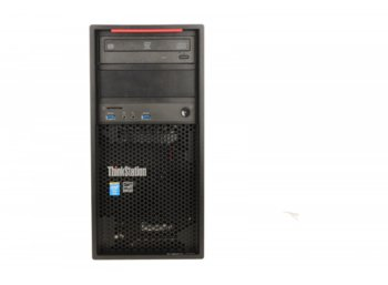 Lenovo ThinkStation P300 Tower Workstation 30AH004FPB W7P&W8.1Pro E3-1226 v3/2x8GB/SSD 256GB/Integrated/DVD/450W/3YRS OS