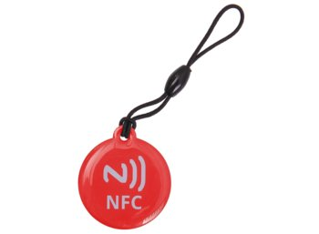 Global Technology TAG NFC BRELOK 512 BAJTÓW CZERWONY