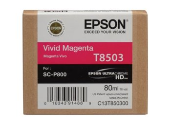 Epson Singlepack Photo Vivid MAGENTA cartridge, T850300