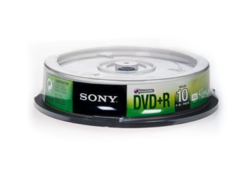 Sony DVD+R 16x 4.7GB (10 CAKE)