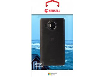 Krusell Etui BODEN Cover do Microsoft Lumia 950XL - czarny