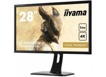 IIYAMA 28'' GB2888UHSU-B1 Gold Phoenix 4K DP/HAS/SPEAKERS/USB