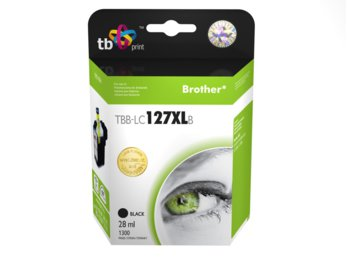 TB Print Tusz do Brother LC127XL Black TBB-LC127XLB