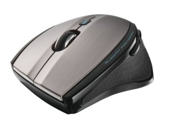 Trust MaxTrack Wireless Mini Mouse - black/grey
