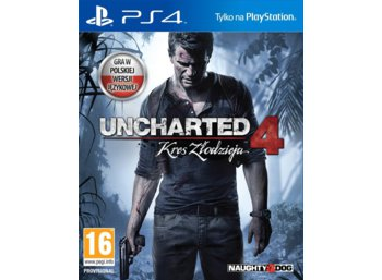 Sony Uncharted 4: Kres Zlodz ja PS4 PL