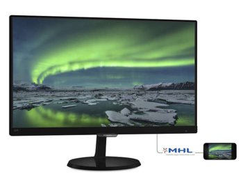 Philips 23'' 237E7QDSB LED AH-IPS DVI HDMI-MHL