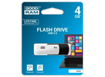 GOODRAM COLOR MIX 4GB USB2.0 Czarno-biały
