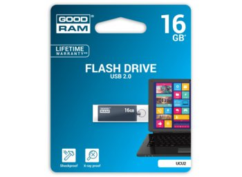 GOODRAM Cube Graphite 16GB USB2.0