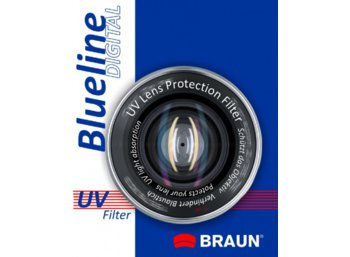 Braun Phototechnik Filtr foto BRAUN Bluelin UV 72mm