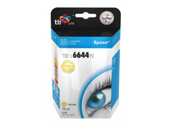TB Print Tusz do Epson L100/110/200/210/3xx/550 Yellow TBE-L6644YE