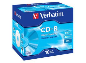 Verbatim CD-R 40x 700MB 10P JC Extra Protection 43428