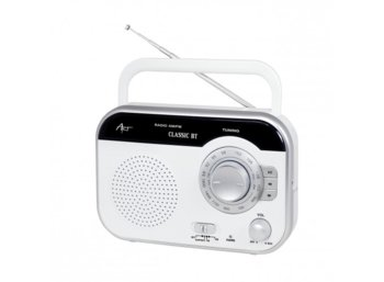 ART Radio AM/FM Classic BT white