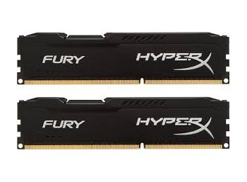 HyperX DDR3 Fury  8GB/ 1866 (2*4GB) CL10 BLACK