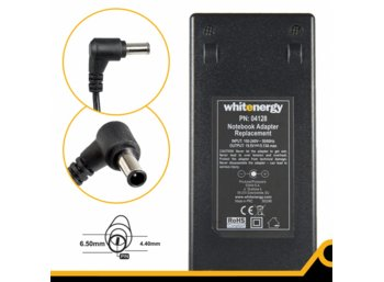 Whitenergy Zasilacz 19.5V | 5.13A 100W wtyk 6.5 x 4.4mm + pin Sony