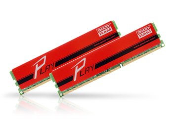 GOODRAM DDR3 PLAY 16GB/1866 (2*8GB) RED 10-11-10-30