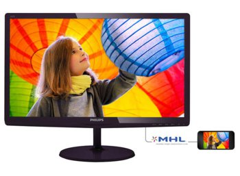 Philips 23.6'' 247E6LDAD LED DVI HDMI MHL Czarny