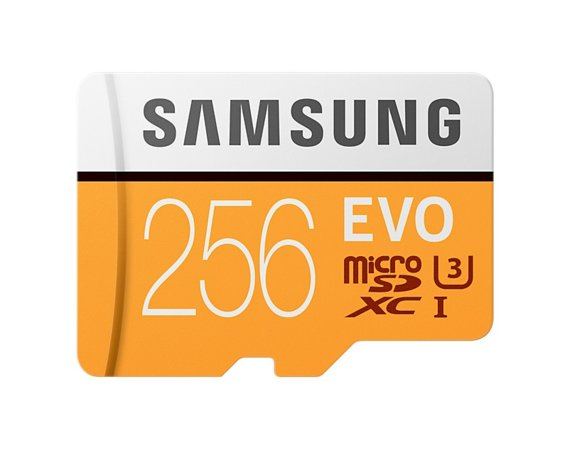 Samsung MB-MP256GA/EU 256GB EVO mSD +Adapter