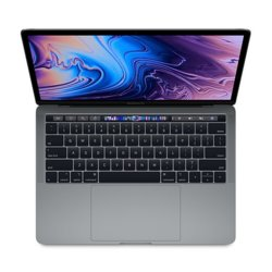 Apple Laptop MacBook Pro 13 Touch Bar, i7 2.7GHz quad-core/16GB/256GB SSD/Intel Iris Plus 655 - Space Grey MR9Q2ZE/A/P1/R1