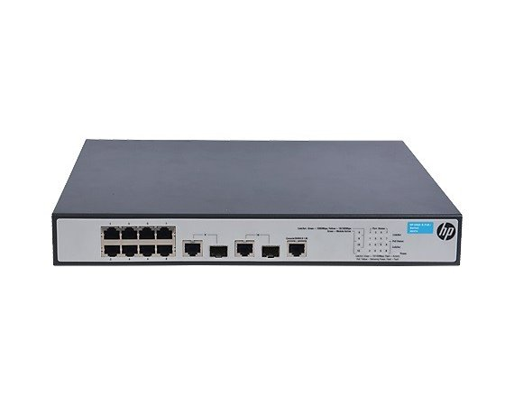 Hewlett Packard Enterprise 1910-8-PoE+ Switch 8xFE PoE+ 2xSFP JG537A - Lifetime Warranty