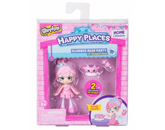 Figurki Happy Places Sezon 2, Zestaw z lalką - Candy Sweets