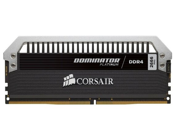 Corsair DDR4 Dominator PLATINUM 16GB/2666 (4*4GB) CL16-18-18-35