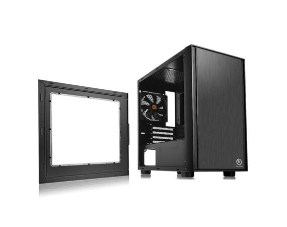 Thermaltake Versa H17 microATX USB3.0 Window - Black