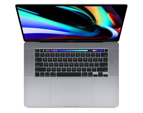 Apple MacBook Pro 16 Touch Bar i9 2.4GHZ/64GB /RP5500M/1TB Space Gray Z0XZ001A6