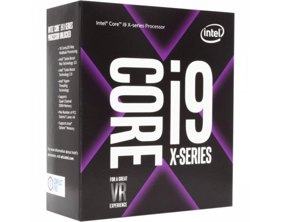 Intel CPU Core i9-7960X BOX 2.80GHz, LGA2066