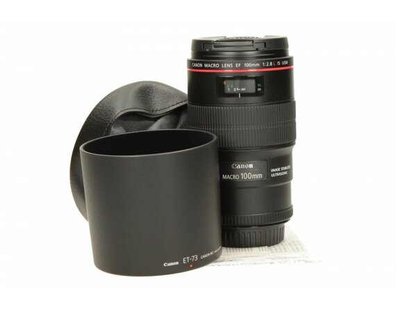 Canon EF 100MM 2.8IS USM MACRO 3554B005