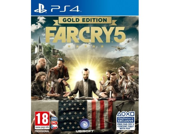 UbiSoft Gra PS4 Far Cry 5 Gold Edition