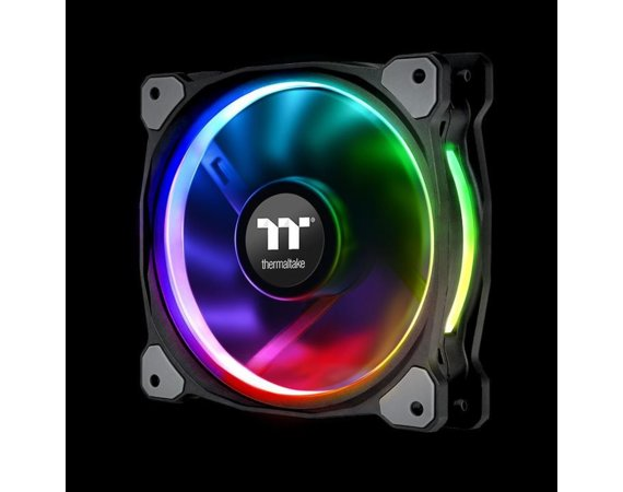 Thermaltake Riing 12 RGB Plus TT Premium Edition 5 Pack (5x120mm, 500-1500 RPM)
