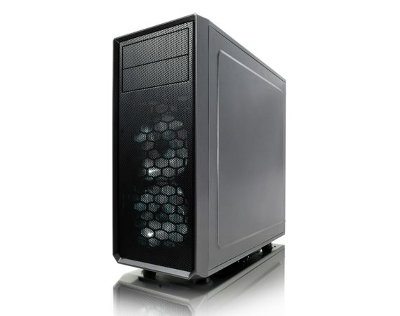 Fractal Design Focus G Window Gunmetal GRAY 3.5'HDD/2.5'SDD uATX/ATX/ITX