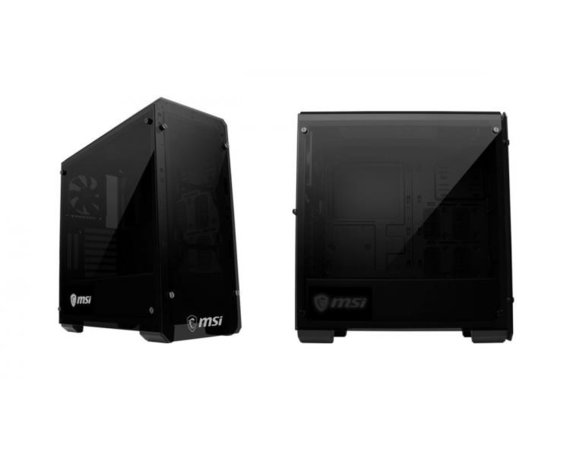 MSI Obudowa Mag Bunker 2 x USB3.0 Double Tempered Glasses