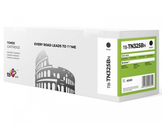 TB Print Toner do Brother TN325B BK 100% nowy TB-TN325BN