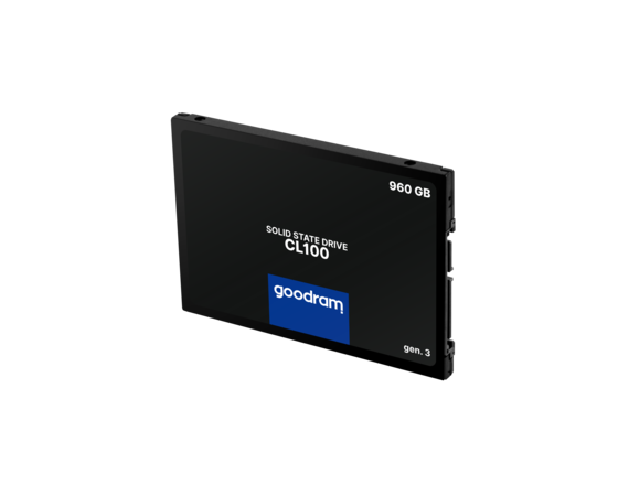 GOODRAM Dysk SSD CL100 G3 960GB  SATA3 2,5
