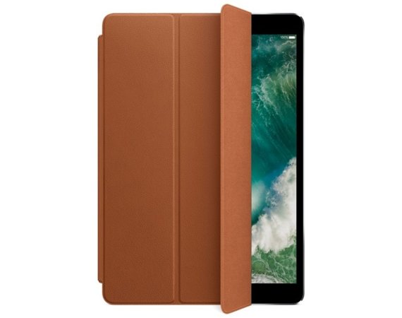 Apple iPad Pro 10.5 Leather Smart Cover - Saddle Brown