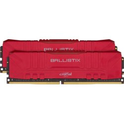 Crucial Pamięć DDR4 Ballistix 16/3000 (2*8GB) CL15 RED