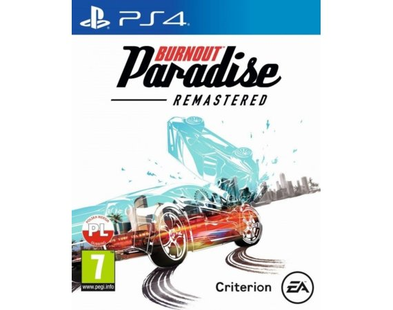 EA Gra PS4 Burnout Paradise Remastered