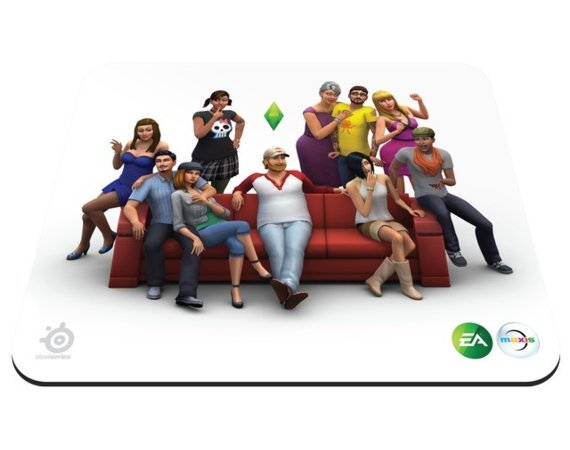 SteelSeries  Podkładka QCK SIMS 4 Gaming