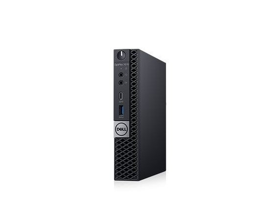Dell Komputer Optiplex 7070 MFF W10Pro i5-9500T/8GB/1TB/Intel UHD 630/WLAN + BT/KB216 & MS116/3Y BWOS